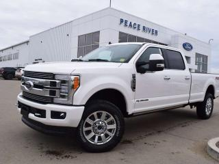 Used 2019 Ford F-350 Super Duty SRW Limited 4x4 SD Crew Cab 160.0 in. WB for sale in Peace River, AB