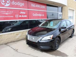 Used 2013 Nissan Sentra SV for sale in Edmonton, AB