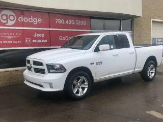 Used 2014 RAM 1500 Sport 4x4 Quad Cab for sale in Edmonton, AB