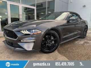 Used 2018 Ford Mustang GT PREMIUM CONVERTIBLE LEATHER NAV BACKUP CAM for sale in Edmonton, AB