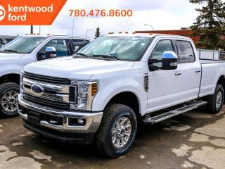 New 2019 Ford F-250 Super Duty SRW XLT premium pkg 603A 6.2L V8 4x4 crew cab, NAV, heated power seats, FX4 off road pkg, camper pkg, trailer brake controller for sale in Edmonton, AB