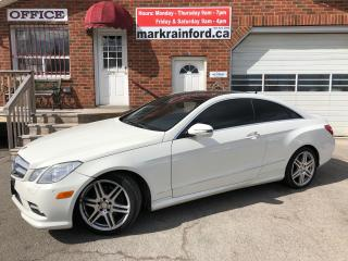 Used 2010 Mercedes-Benz E-Class E 350 AMG Appearance Pack Pano Roof Nav Bluetooth for sale in Bowmanville, ON