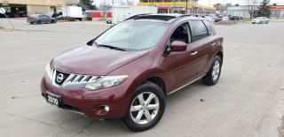 Used 2010 Nissan Murano AWD, Leather, Double Sunroof, warranty aval. for sale in Toronto, ON