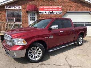 Used 2013 RAM 1500 Laramie Longhorn 5.7 Sunroof Nav BT Saddle Leather for sale in Bowmanville, ON