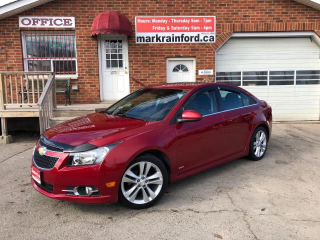 2012 Chevrolet Cruze LT Turbo RS Sunroof Factory Remote start