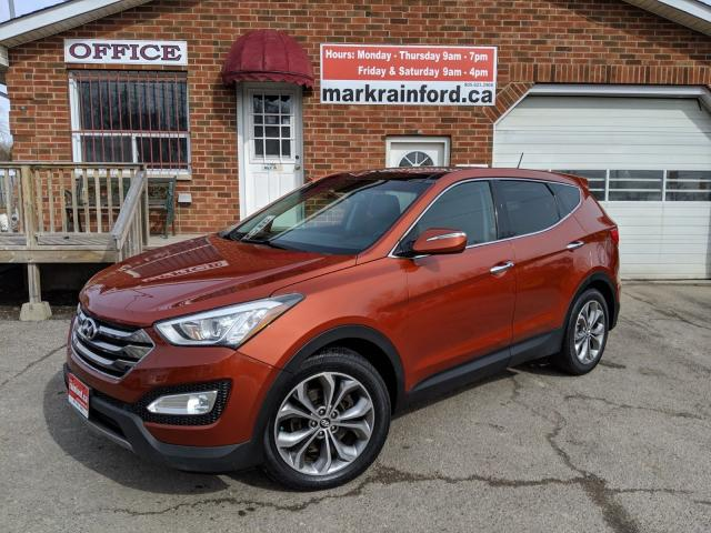 2013 Hyundai Santa Fe Ltd 2.0T AWD Pano Roof Leather Rmt Start Nav