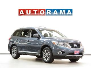 Used 2016 Nissan Pathfinder SL LEATHER SUNROOF 7 PASSENGER AWD for sale in Toronto, ON