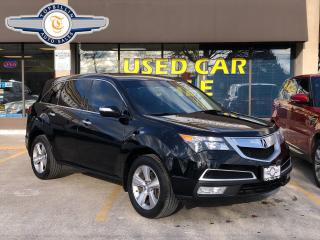 Used 2011 Acura MDX Tech Package, Black on Black for sale in Vaughan, ON