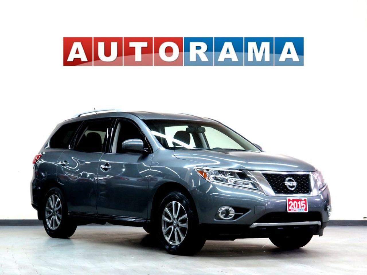 2015 Nissan Pathfinder PLATINUM NAVI LEATHER PAN SUNROOF BACK UP CAM
