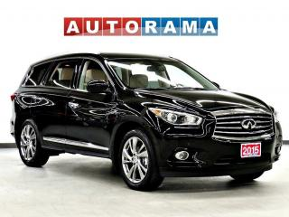 Used 2015 Infiniti QX60 NAVI LEATHER SUNROOF 7 PASS BACK UP CAM AWD for sale in Toronto, ON