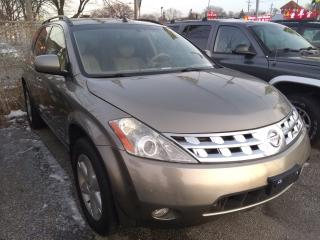 Used 2003 Nissan Murano FULLY LOADED SPECIAL EDITION for sale in Toronto, ON