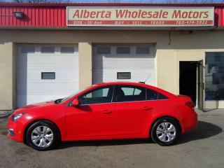 Used 2015 Chevrolet Cruze 1LT for sale in Edmonton, AB