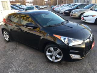 Used 2012 Hyundai Veloster AUTO/ REVERSE CAM/ PWR GROUP/ BLUETOOTH/ ALLOYS! for sale in Scarborough, ON