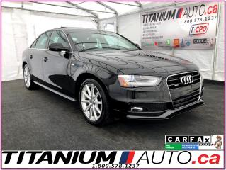 Used 2015 Audi A4 S Line-Progressiv+-Quattro-Camera-GPS-Sunroof-HID- for sale in London, ON
