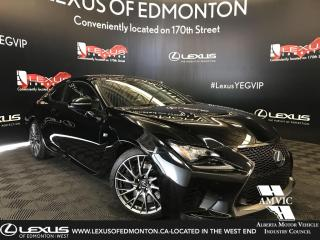 Used 2016 Lexus RC F Performance Package for sale in Edmonton, AB