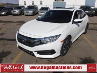 Used 2016 Honda Civic EX 4D Sedan AT 2.0L for sale in Calgary, AB