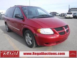 Used 2004 Dodge Grand Caravan 4D Wagon for sale in Calgary, AB