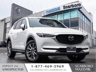 Used 2019 Mazda CX-5 0.99%|CPO|SIGNATURE|AWD|NAPPA LEATHER|CLEAN CARFAX for sale in Scarborough, ON