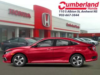 New 2019 Honda Civic Sedan LX CVT  - Heated Seats for sale in Amherst, NS