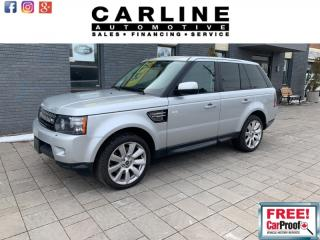 Used 2013 Land Rover Range Rover Sport 4WD 4dr HSE LUX for sale in Nobleton, ON