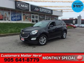 Used 2017 Chevrolet Equinox LT  PWR-GATE CAM HS BS PARK-SENS REMOTE for sale in St. Catharines, ON