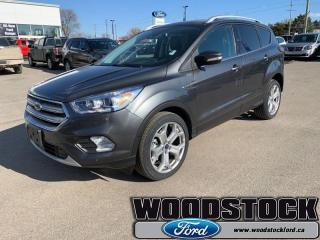 Used 2019 Ford Escape Titanium 4WD  FORD SAFE/SMART+ROOF PKG for sale in Woodstock, ON