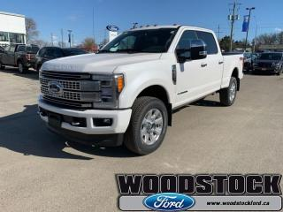 New 2019 Ford F-250 Super Duty PLATINUM for sale in Woodstock, ON