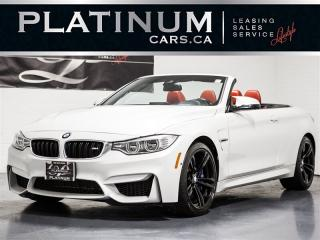 Used 2015 BMW M4 CABRIOLET, EXEC, NAVI, Heads UP, CARBON, Merino for sale in Toronto, ON