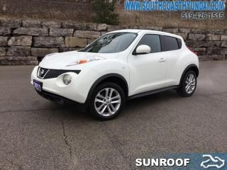 Used 2011 Nissan Juke 1.6 DIG Turbo SL FWD CVT  - Cloth Seats for sale in Simcoe, ON