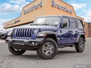 New 2019 Jeep Wrangler Unlimited Sport  - $299.64 B/W for sale in Brantford, ON