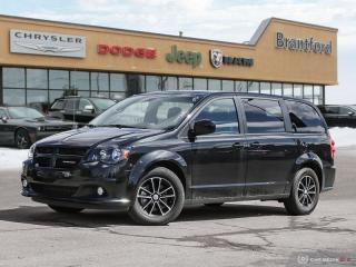 Used 2019 Dodge Grand Caravan GT  - Leather Seats -  Heated Seats - $191.49 B/W for sale in Brantford, ON