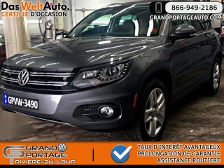 Used 2015 Volkswagen Tiguan Comfortline AWD Ens. Sport **Garantie Pr for sale in Rivière-Du-Loup, QC