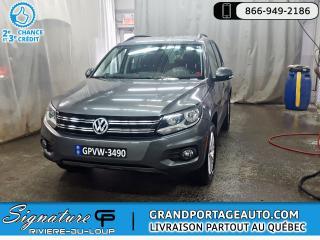Used 2016 Volkswagen Tiguan 2.0T SPÉCIALE ÉDITION TOIT **CLEAN** for sale in Rivière-Du-Loup, QC