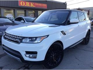 Used 2016 Land Rover Range Rover Sport 2016-Awd-Diesel-Toit for sale in Laval, QC
