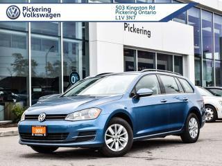 Used 2015 Volkswagen Golf Sportwagon TRENDLINE WAGON FWD!! for sale in Pickering, ON