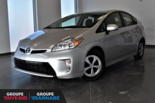 Used 2014 Toyota Prius HYBRIDE + GR ELECTRIQUE + CAMERA DE RECU for sale in St-Jean-Sur-Richelieu, QC