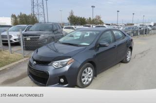 Used 2014 Toyota Corolla S Bluetooth Camera for sale in St-Rémi, QC