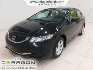 Used 2014 Honda Civic for sale in Cowansville, QC