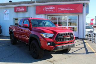 Used 2018 Toyota Tacoma TRD Hors route V6 cabine Accès 4x4 for sale in Shawinigan, QC