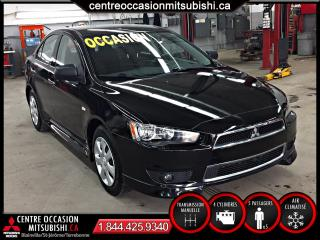Used 2014 Mitsubishi Lancer LANCER DE , MANUELLE for sale in Terrebonne, QC