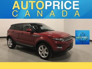 Used 2015 Land Rover Evoque Pure Plus PANOROOF|NAVIGATION|360 CAM for sale in Mississauga, ON
