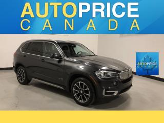 Used 2016 BMW X5 xDrive35i NAVIGATION|PANOROOF|REAR CAM for sale in Mississauga, ON