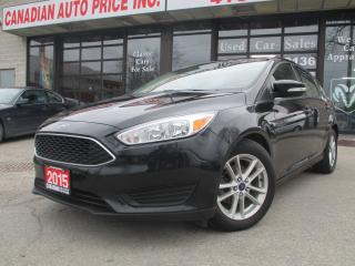 Used 2015 Ford Focus HB SE-BACK UP CAMERA-BLUETOOTH-A/C-ALLOYS for sale in Scarborough, ON