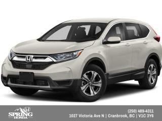 New 2019 Honda CR-V LX $208 BI-WEEKLY - $0 DOWN for sale in Cranbrook, BC