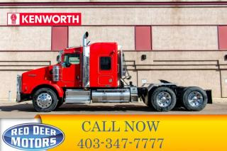 Used 2009 Kenworth T800 Tandem Axle Tractor for sale in Red Deer, AB