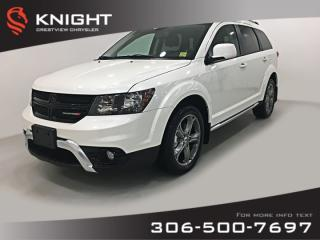 Used 2018 Dodge Journey Crossroad AWD V6 | Navigation | DVD for sale in Regina, SK
