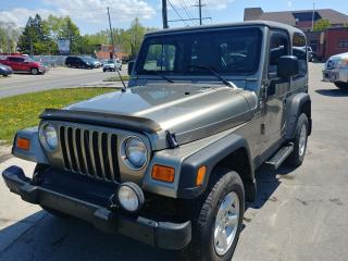 Used 2006 Jeep TJ Sport for sale in North York, ON