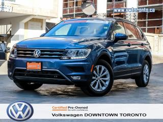 Used 2018 Volkswagen Tiguan 3RD ROW CONVENIENCE PACKAGE for sale in Toronto, ON