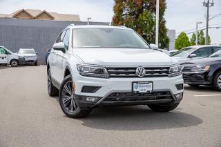 New 2019 Volkswagen Tiguan Highline <b>*DIGITAL DASH* *LANE ASSIST* *ADAPTIVE CRUISE* *LEATHER* *SUNROOF*<b> <b> for sale in Surrey, BC