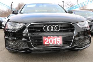 Used 2015 Audi A4 Progressiv plus ACCIDENT FREE for sale in Brampton, ON